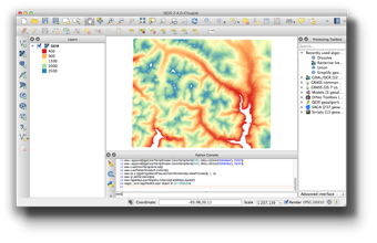 Vector fill raster. Symbolizing and layers qgis