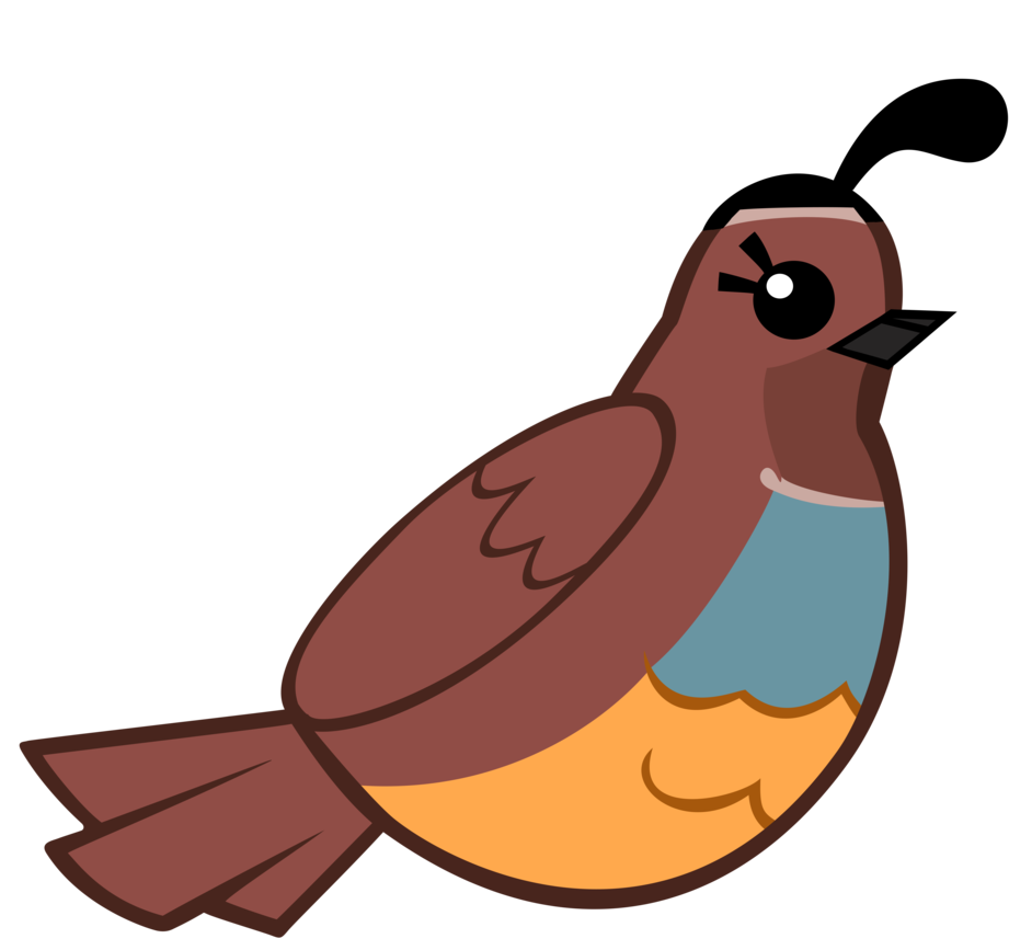 Quail clipart baby quail. Clip art cartoon by