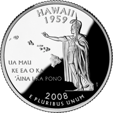 Quarter png. Hawaii value little known