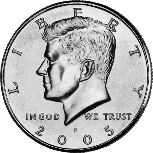 Quarter drawing in god we trust. Learning english from friends