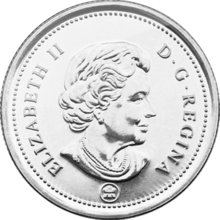 Quarter drawing coin canadian. Wikipedia obverse png