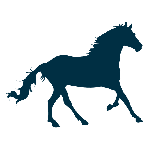 Quarter horse silhouette png. Collection of free cantering