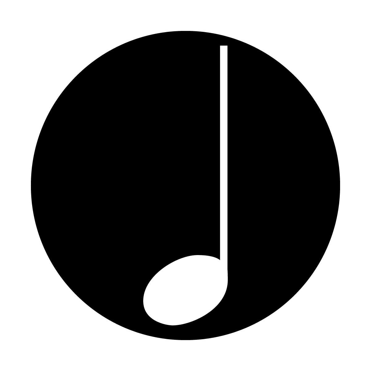 Quarter note png. Images in collection page
