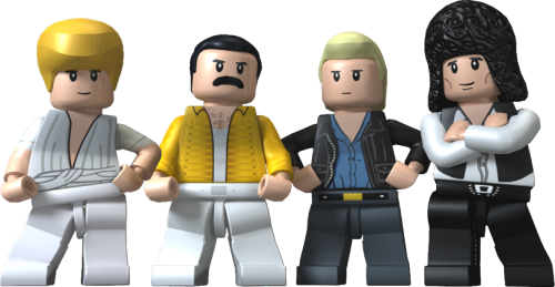Queen band png. Image lego rock wiki