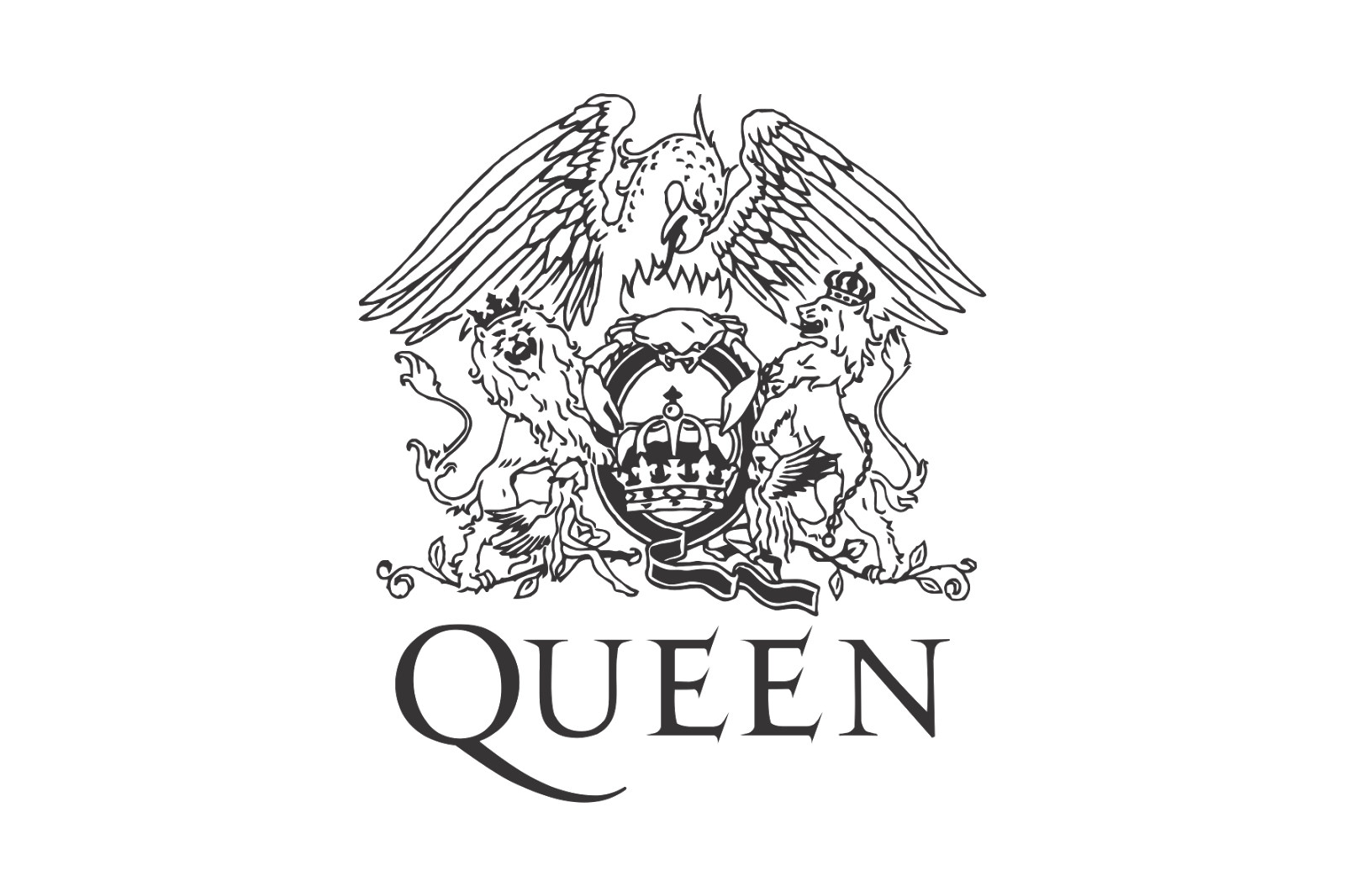 Queen Band Logo Transparent Png Clipart Free Download Ya Webdesign