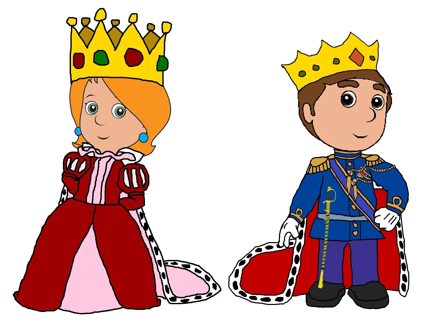 Queen clipart. Images transitionsfv awesome design