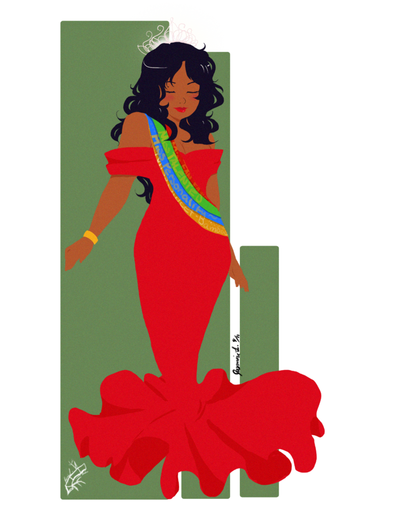 Queen clipart beautiful queen. Beauty by xuiology panda
