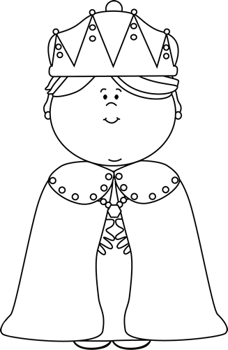 Queen clipart black and white. Clip art image