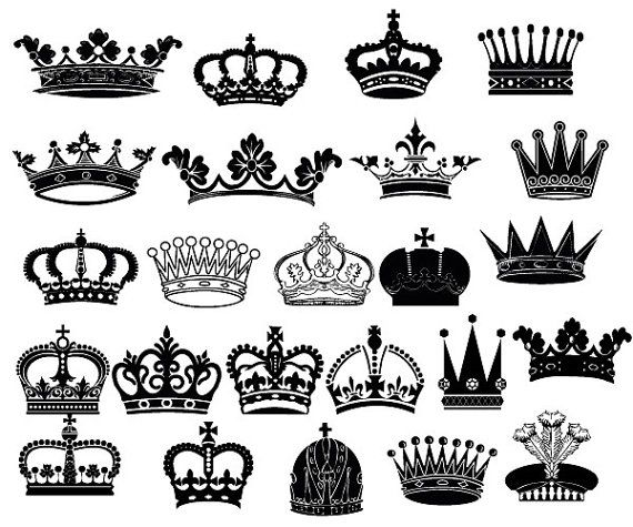 Crown clipart queen crown. King clip art royal