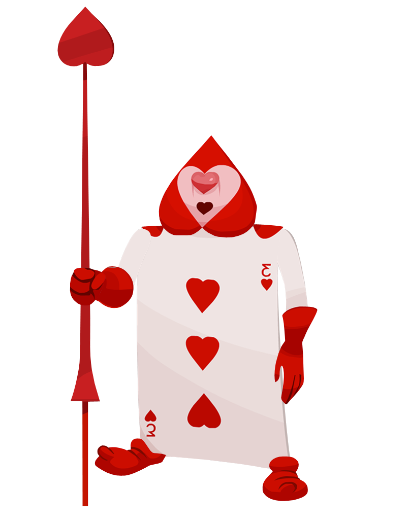 Queen of hearts card png. Soldier google search punch
