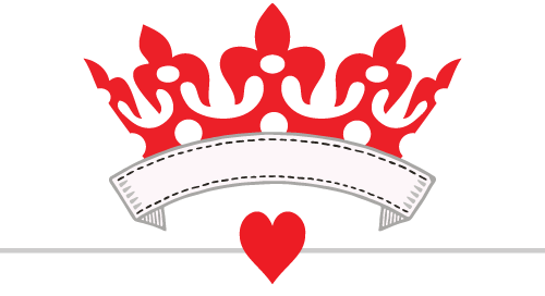 Queen of hearts png. Ball and casino night