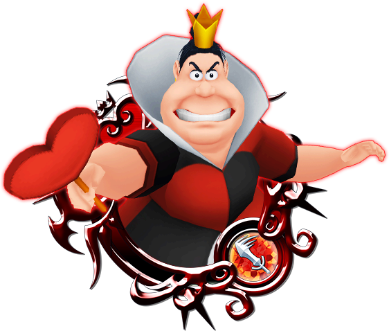 Queen of hearts png. Kingdom insider evolution x