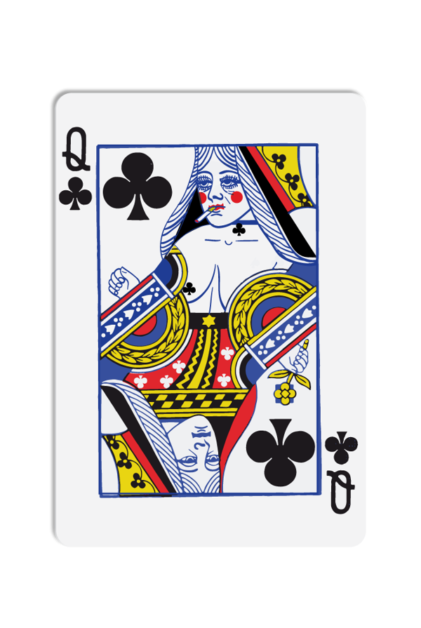 Queen playing cards png. Bet you don t