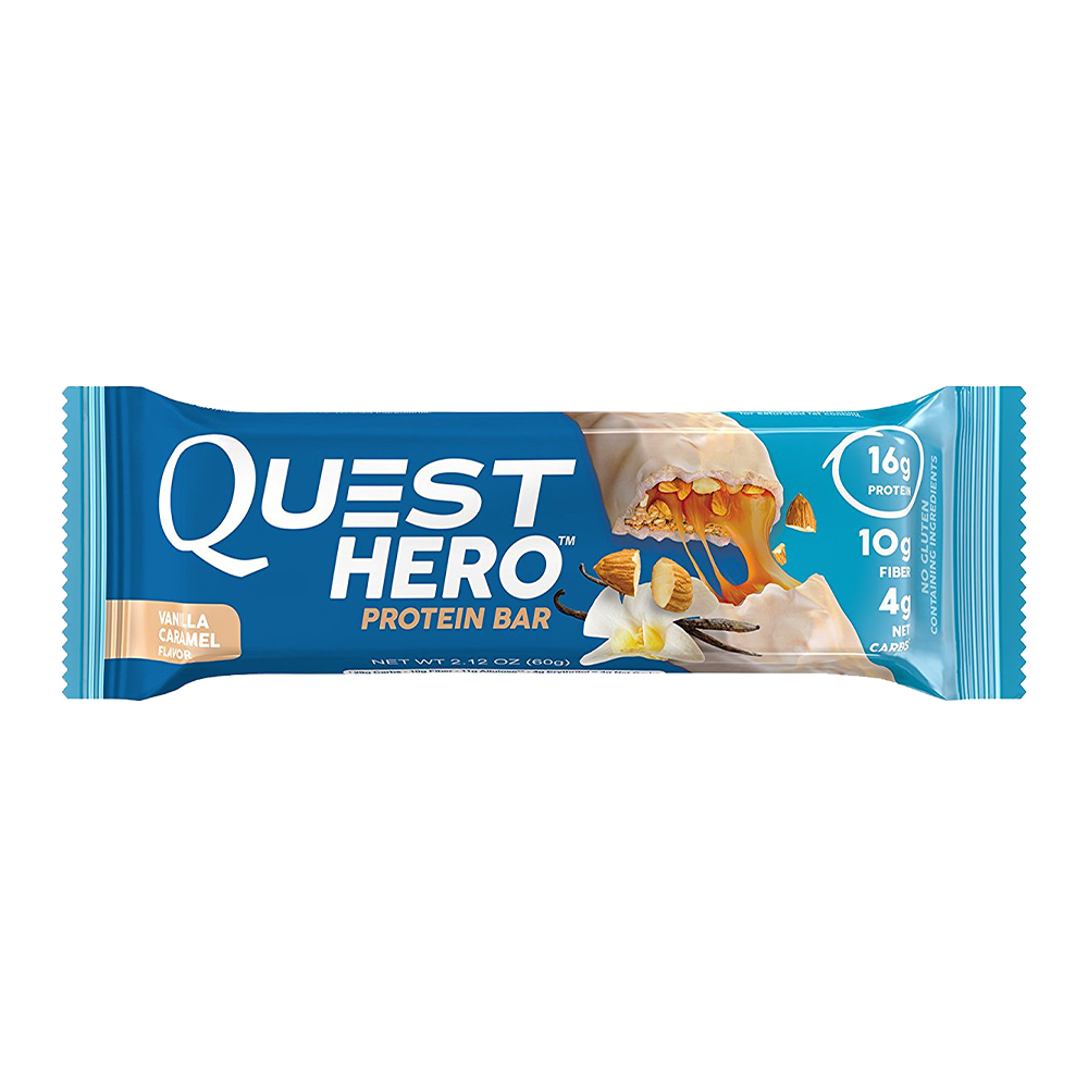 Quest bar png. Hero protein g bars