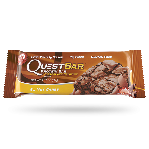 Quest bar png. Chocolate brownie over achieve