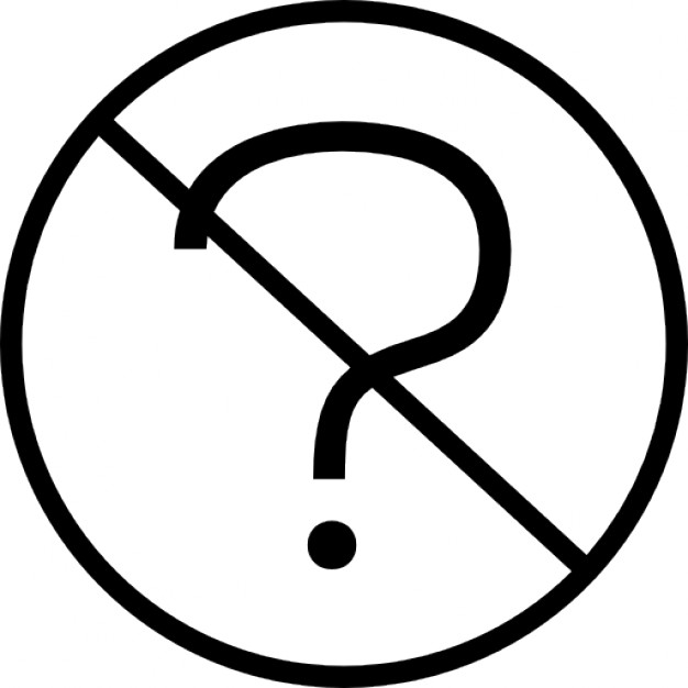 Question Icon Transparent Clipart Free Download