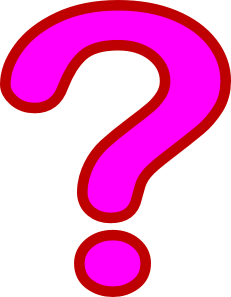 Pink question mark png. Images free download