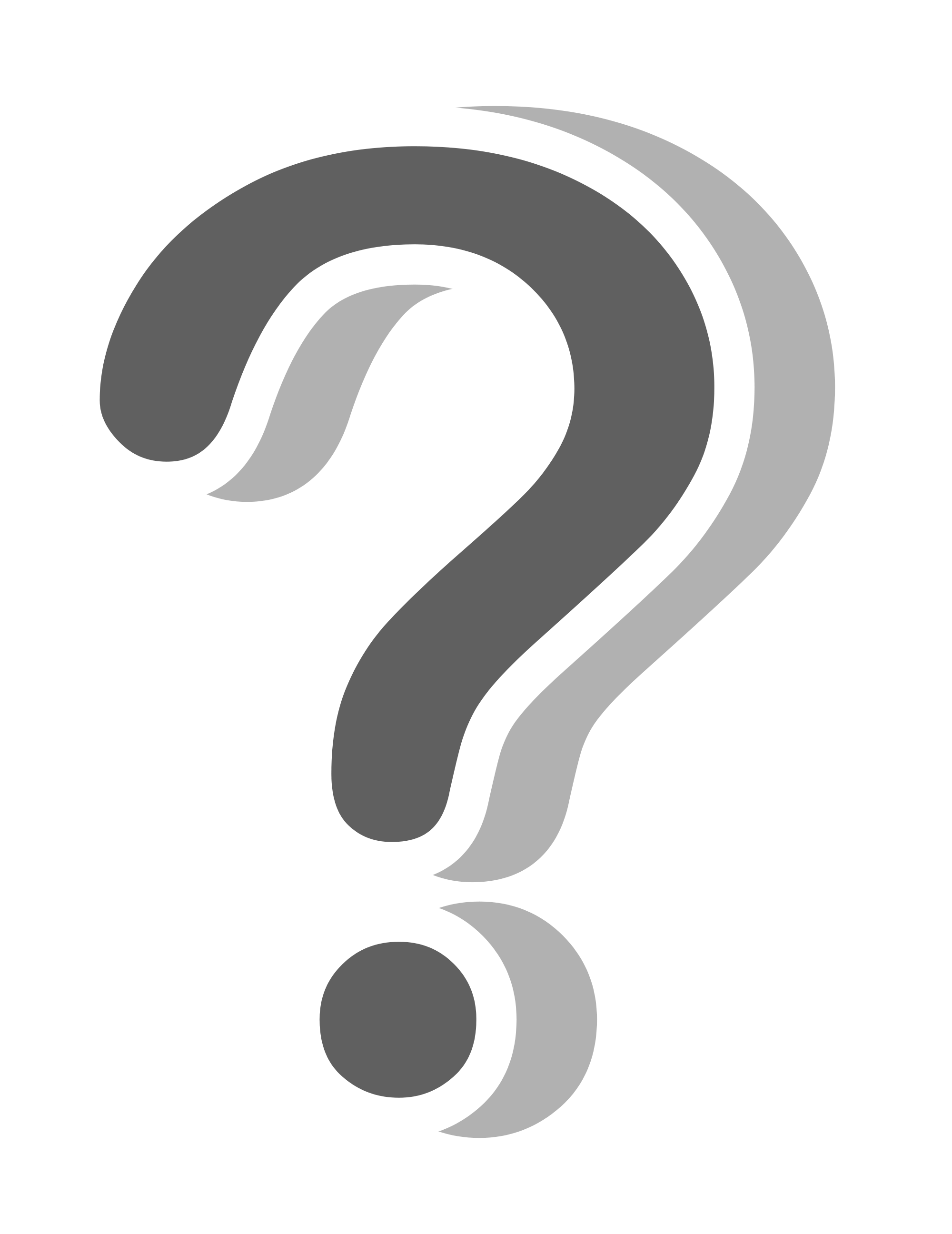 Sticker transparent stickpng download. Question mark png white picture library stock