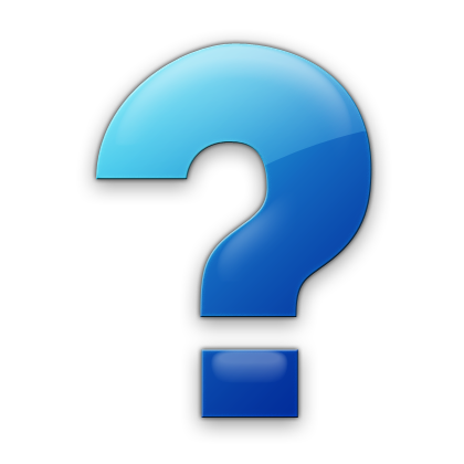 Blue question mark png. Symbol icon free icons