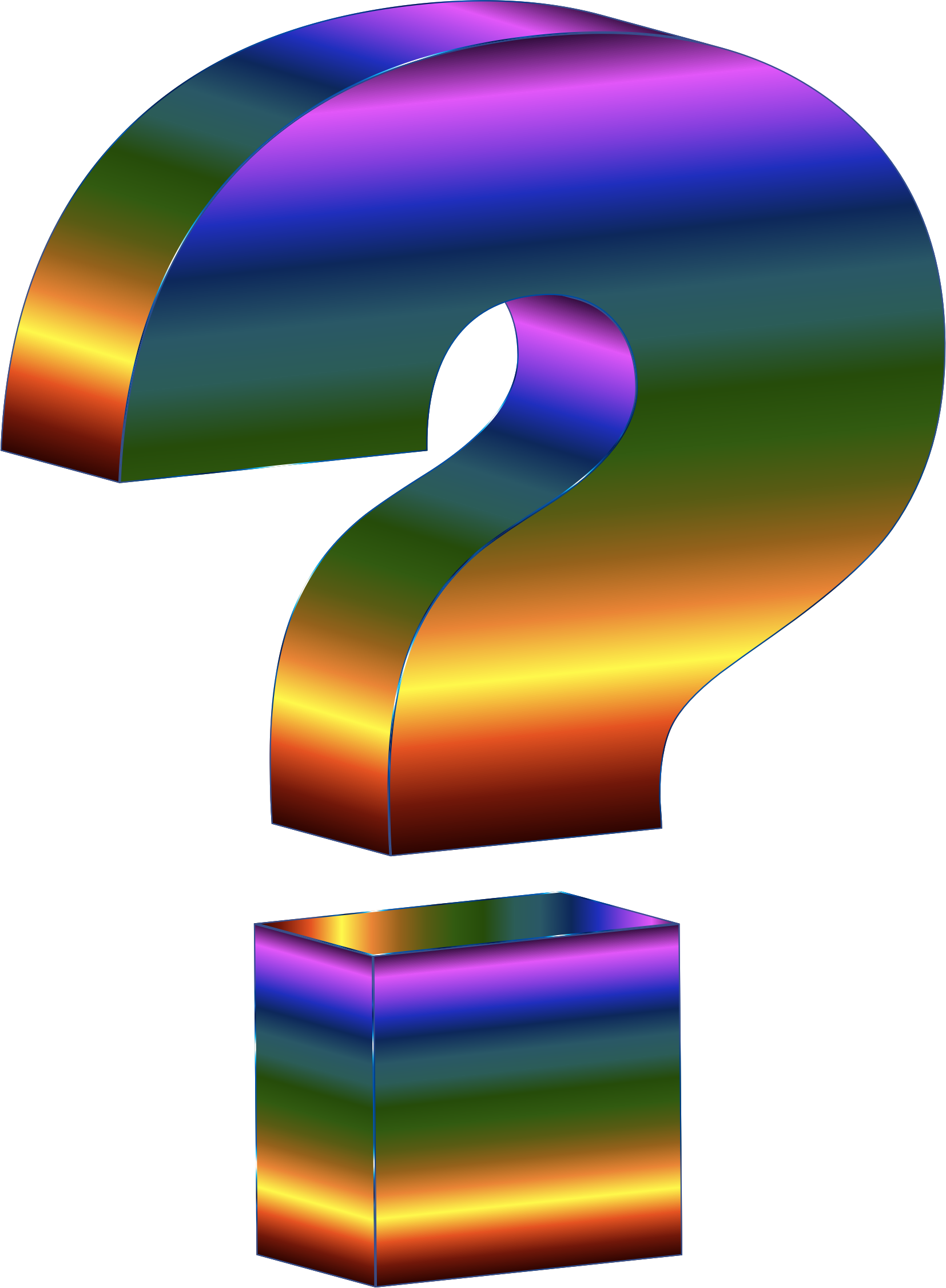 Question mark png image. Prismatic d icons free