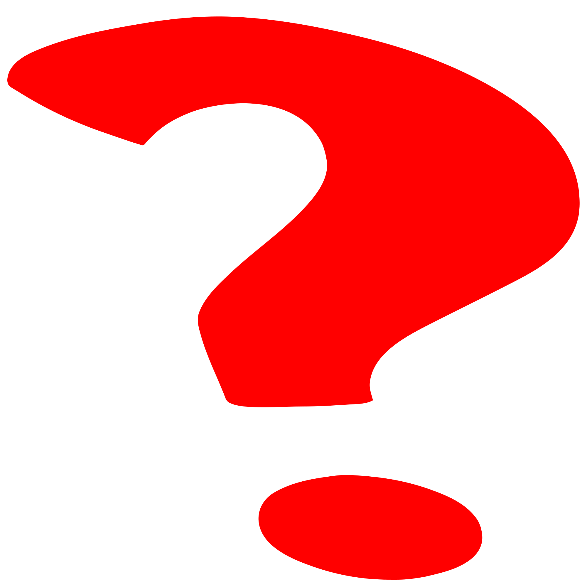 red question mark png