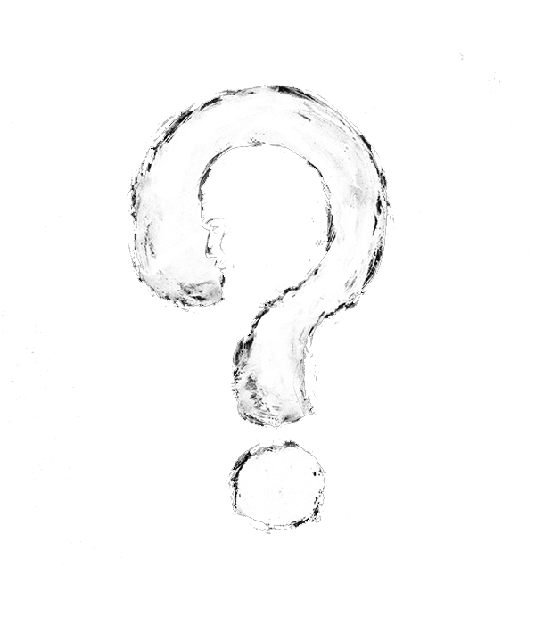 Question mark white png. Black and creative transprent