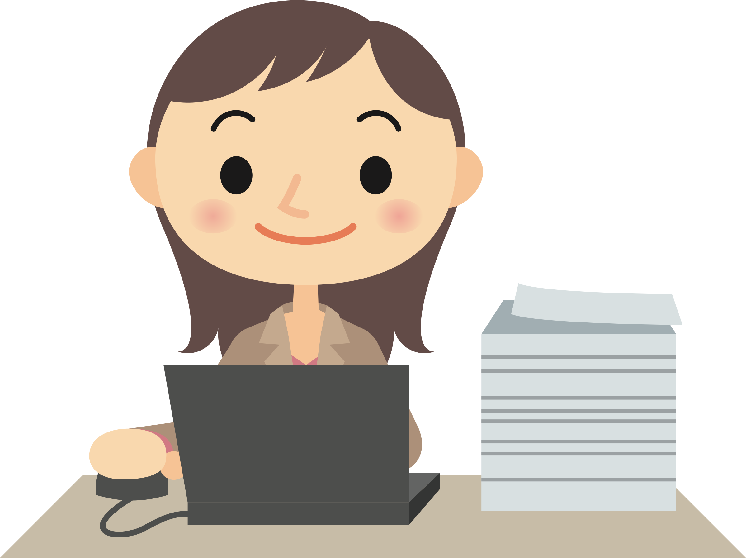 Questions clipart female. Computer user big image