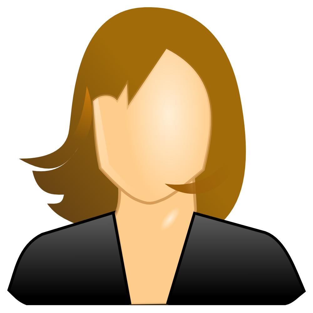 Safe clipart repository. Onlinelabels clip art female