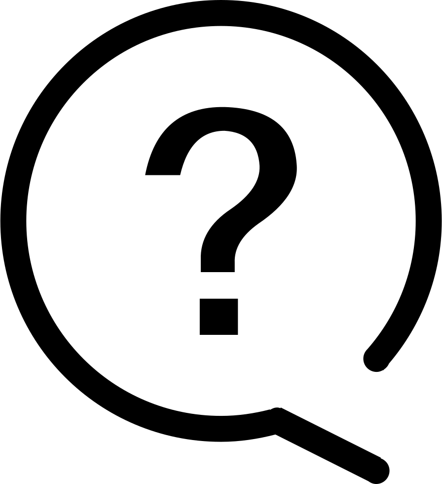 Questions icon png. Answer all the svg