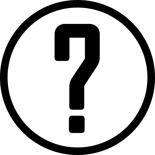 Questions icon png. Question mark in a