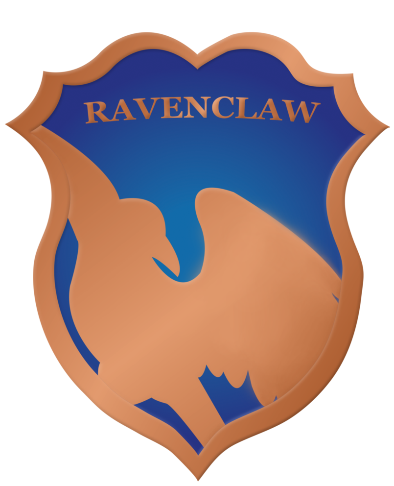 Ravenclaw vector. Crest badge by rainbowrenly