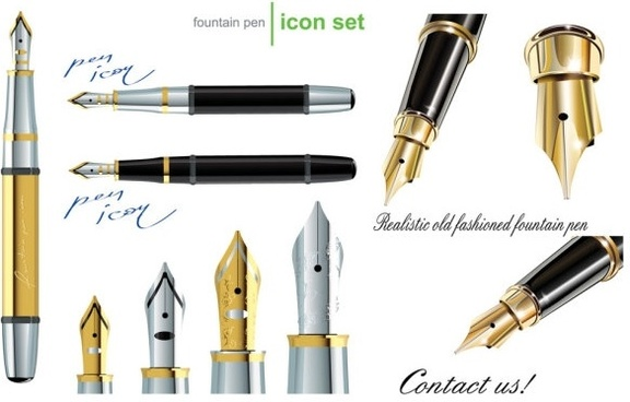 Quill clipart calligraphy pen. Free vector download for
