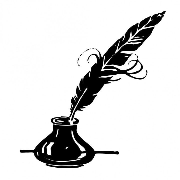 Quill clipart dip pen. Free image on pixabay