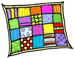 The best quilt sketches. Quilter clipart banner