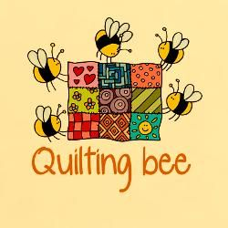 Quilters unite this cute. Quilter clipart quilting bee graphic free download