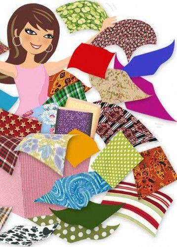Quilter clipart sewing cloth. Best images on