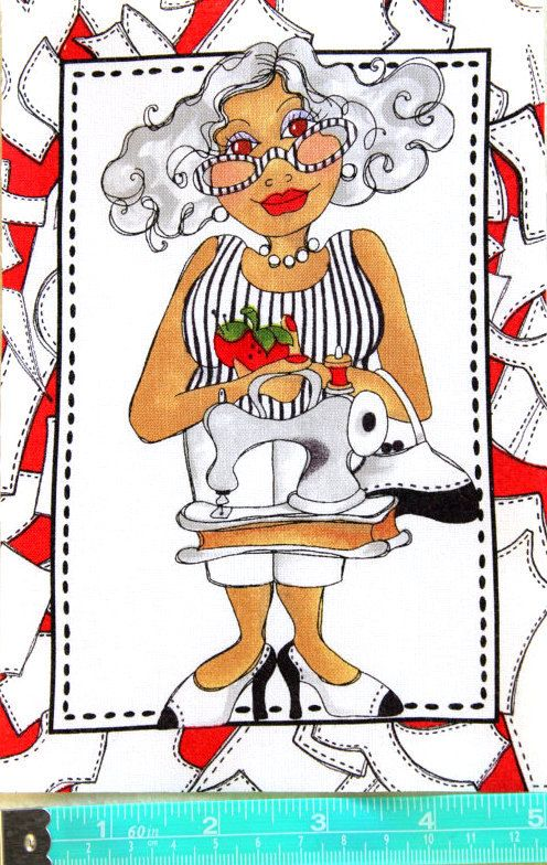 Quilter clipart sewing cloth. Best colleccions loralie