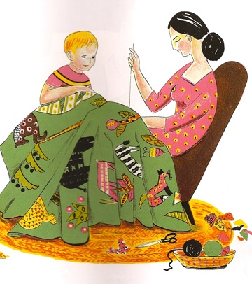 best quilt paintings. Quilter clipart woman vector royalty free library