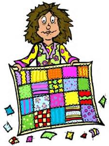 Little red hen quilt. Quilter clipart woman clipart freeuse stock