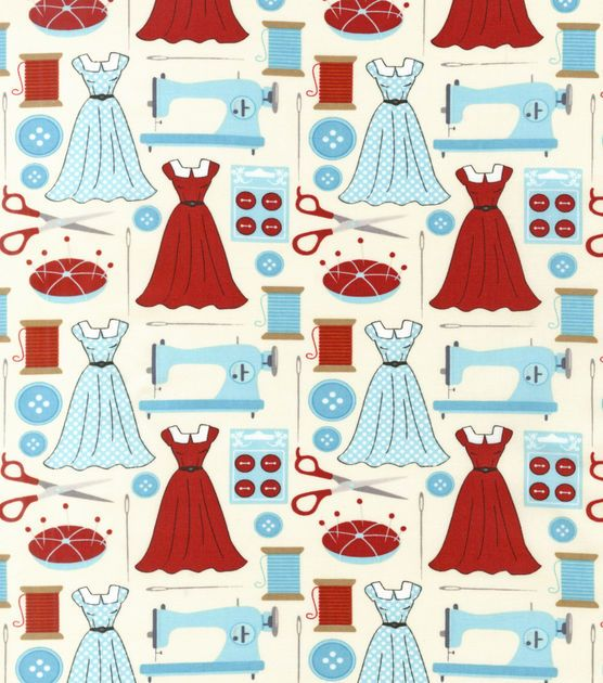 Quilters clipart sewing dress. Novelty quilt fabric dresses