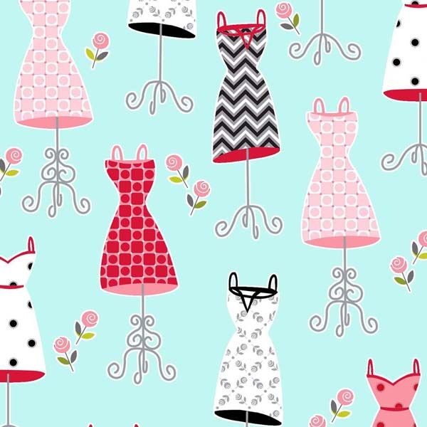 Quilters clipart sewing dress. Best telas motivos