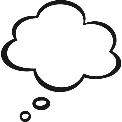 Quote bubble png. Thought transparent stickpng