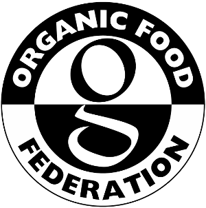 Quotes vector food. Organic federation
