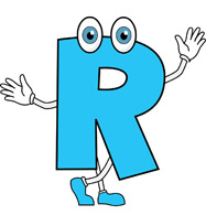 R clipart. Search results for letter