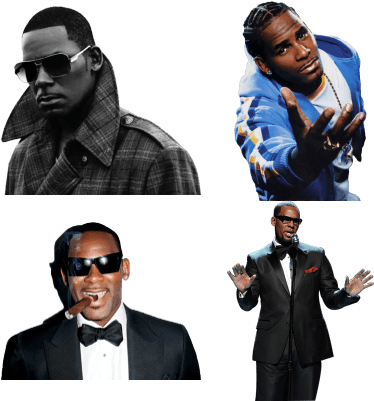 R kelly png. Download hd untitled cd
