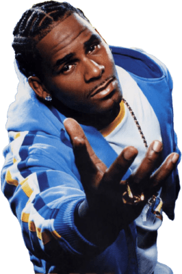 R kelly png. Open hand transparent stickpng