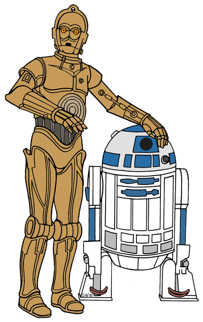 R2d2 clipart cp30. C po at getdrawings