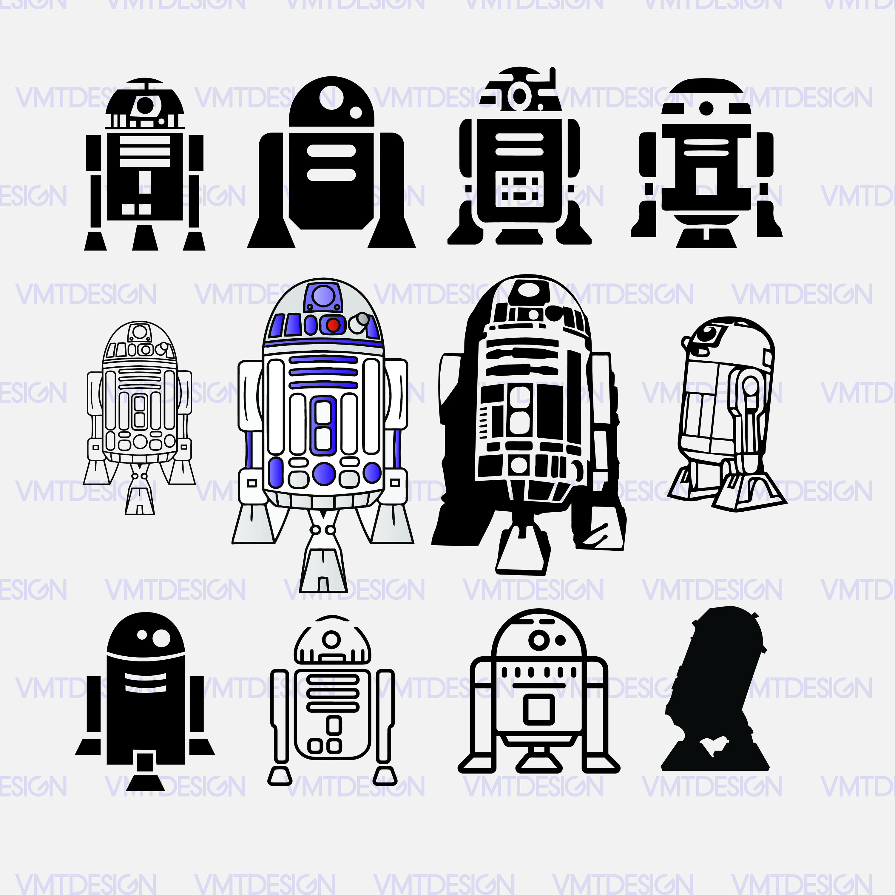 R d svg vector. R2d2 clipart r2 d2 picture royalty free stock