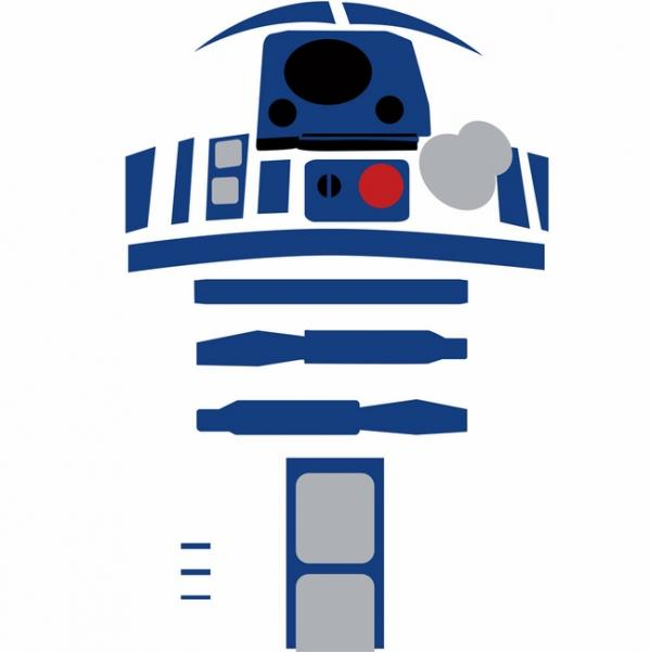 Star wars character r. R2d2 clipart r2 d2 picture library download