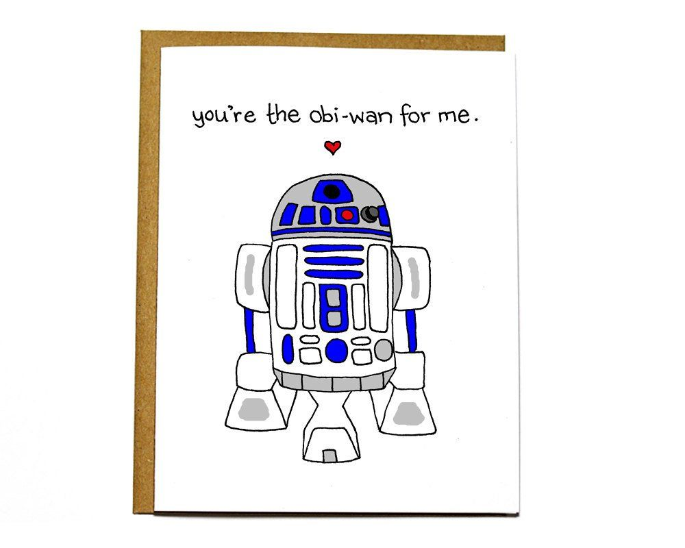 Youre obi wan me. R2d2 clipart valentines png black and white library